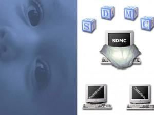 SDMC Geboortekaartje = Buitenkant