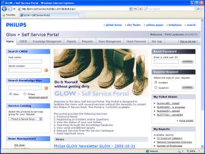 Philips = Glow - Homepage