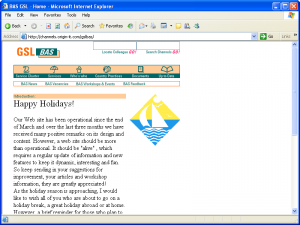 GSL BAS = Homepage