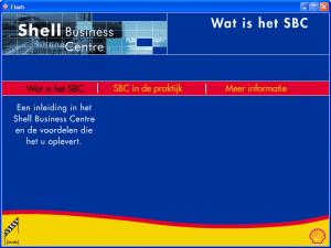 Shell = Wat is het SBC