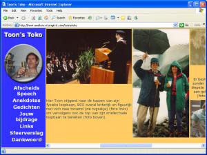 Toon's Toko = Homepage