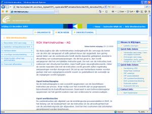 UWV = WIA Werkinstructies - Homepage